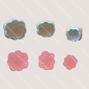 decupatoare textura trandafiri