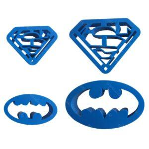 Decupatoare logo supereroi