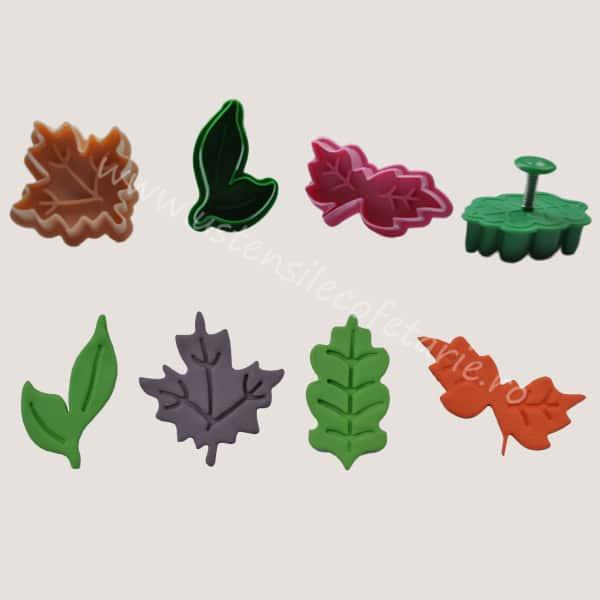 decupatoare frunze diverse