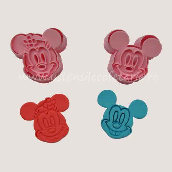 decupator mickey si minnie