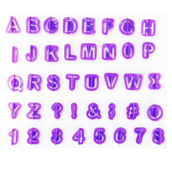 Decupatoare litere si cifre