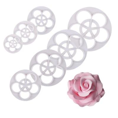 decupatoare trandafiri set 7 piese