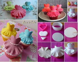 Cupcakes balerine