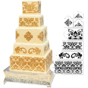 Set 7 sabloane damask