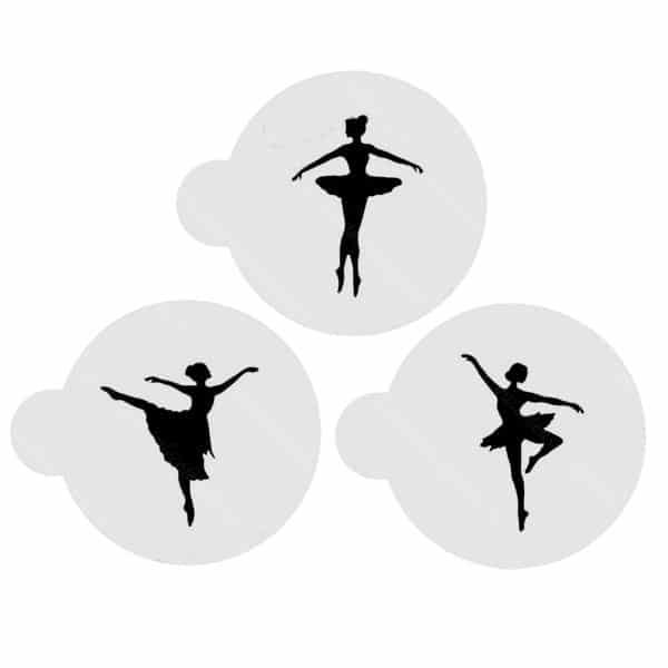 Sabloane-balerina,-set-3-bucati