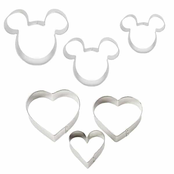Decupatoare-Mickey-si-inima,-set-6-piese